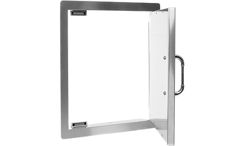 Bull Vertical Access Door: Stainless Steel