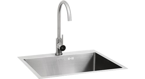 Bull Sink & Tap - Stainless Steel - Extra large