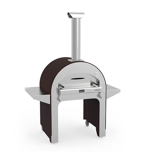 Alfa 4 Pizze pizza oven with base