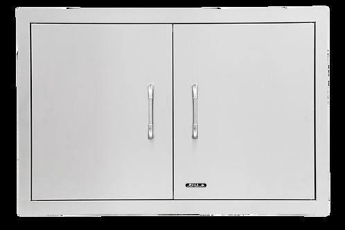 Bull 76cm Double Doors: Stainless Steel