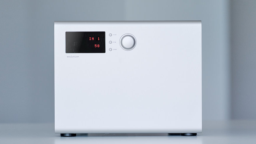 Soulution 530 Integrated Amp.