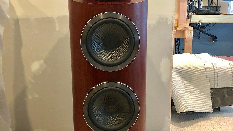B&W 802 D3 Diamond Speakers Rosenut