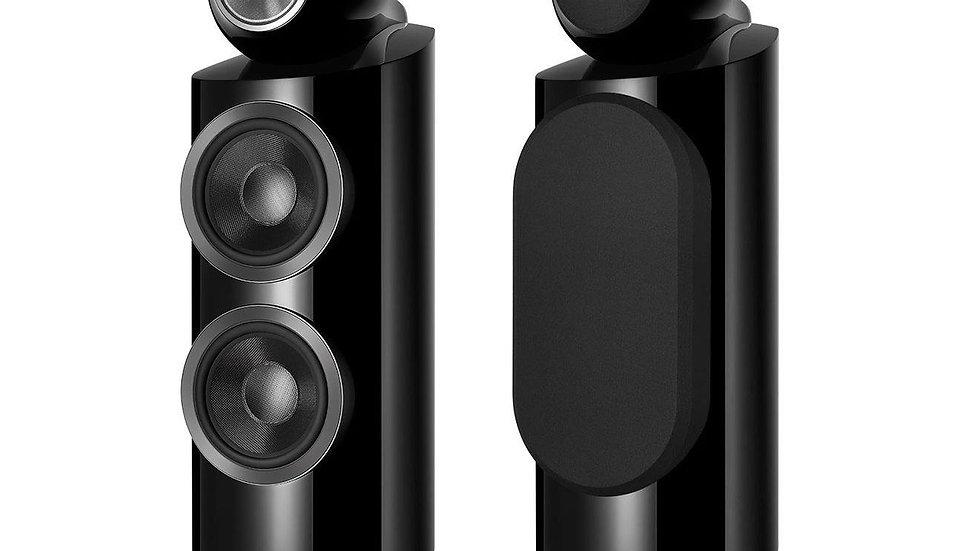 B&W 800 D3 Diamond Speakers - New - Gloss BLACK