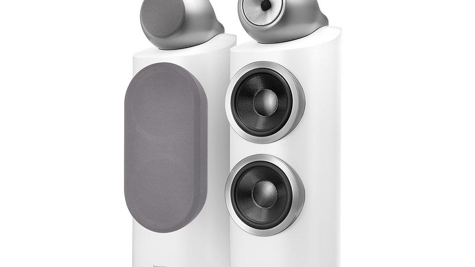 B&W 800 D3 Diamond Speakers - New - Satin WHITE
