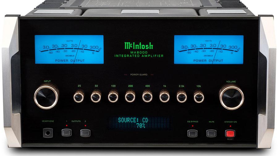 McIntosh MA 8000 Integrated Amp.