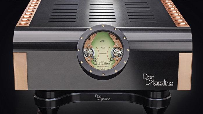 Dan D'Agostino Momentum S250 Black Stereo Amp.