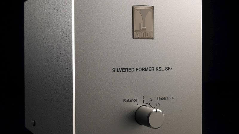 Audio Note Japan - Kondo KSL-SFz MC Step-Up Silver Transformer