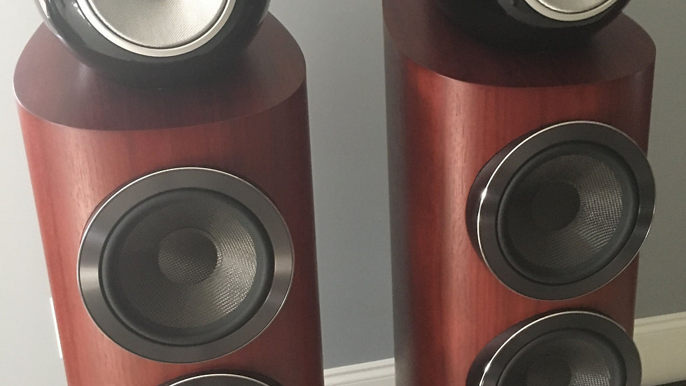 B&W 803 D3 Diamond Speakers Rosenut