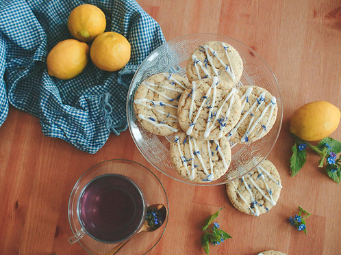 MARGARET ATWOOD | lemon and earl grey cookies
