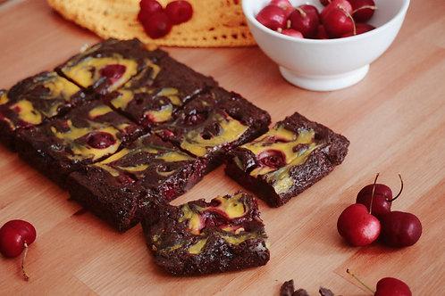 MICHELLE OBAMA | cherry & custard choc bites