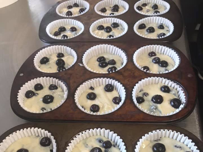 Too many muffins to count