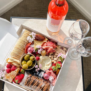 Small cheese lovers box $85