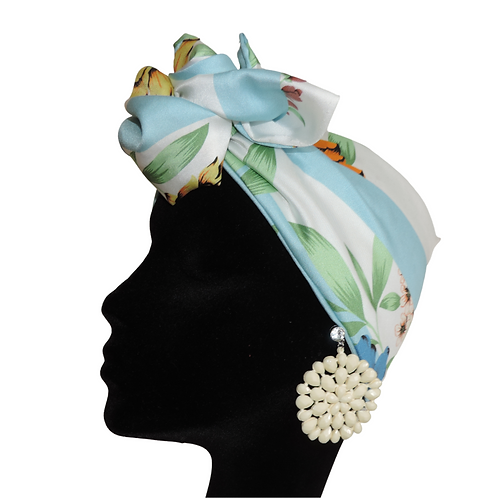 Headband NEAPOLIS AZZURRA