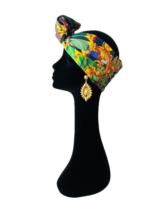 Headband BAROCCO GREEN