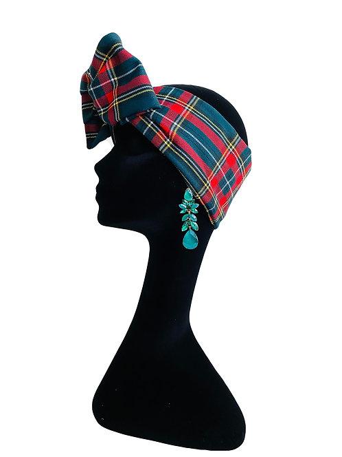 Headband SCOZZESE VERDE