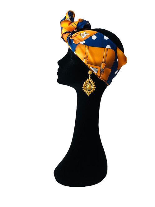 Headband BAG POIS BLUE