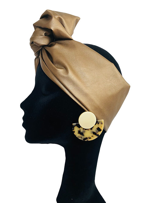 Headband Ecopelle BRONZO