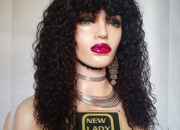 NEW LADY HAIR COLLECTION  PARRUCCA NATURALE RICCIO AFRO
