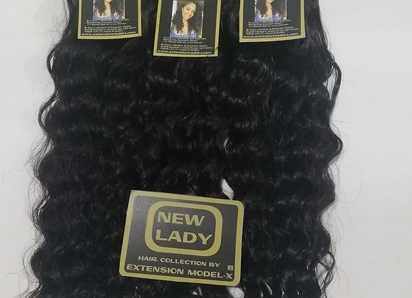 NEW LADY HAIR COLLECTION CAPELLI RICCI INDIANI DI QUALITÀ