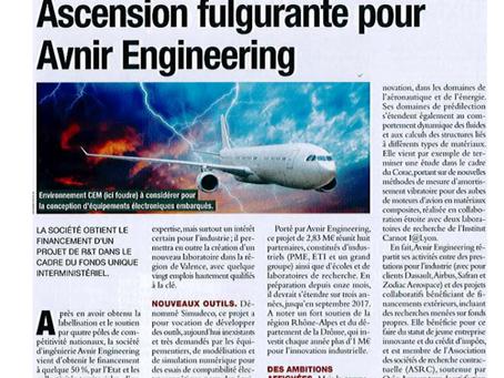 AVNIR Engineering connait une croissance fulgurante