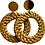Thumbnail: Wicker Basket Earrings