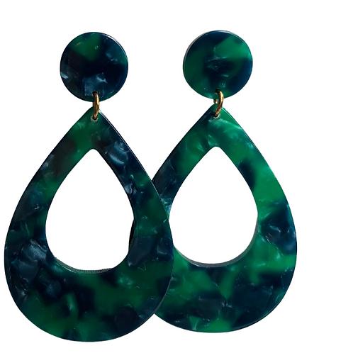 Seafoam Drip Earrings