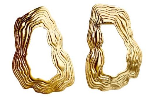 Gold Road Earrings