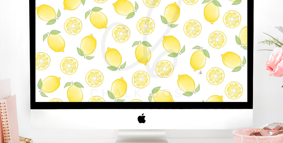 """Life Gives You Lemons"" Wallpaper Download"