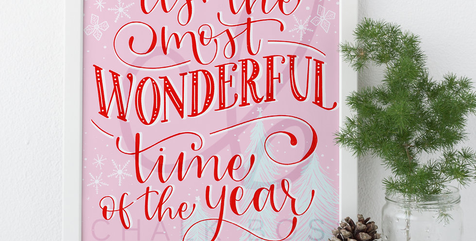 """""""It's the Most Wonderful Time of the Year"""" Art Print"""