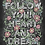 """Thumbnail: """"Follow your Heart and Dream"""" Chalkboard Print"""