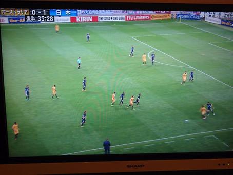 オーストラリアVS日本の試合