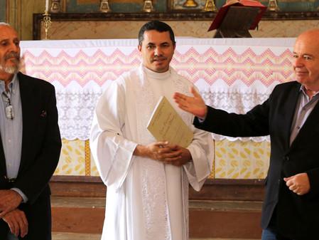 Inauguração da Via Sacra da Igreja do Bom Jesus da Pobreza em Tiradentes - MG