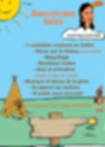 animation anniversaire thème indien