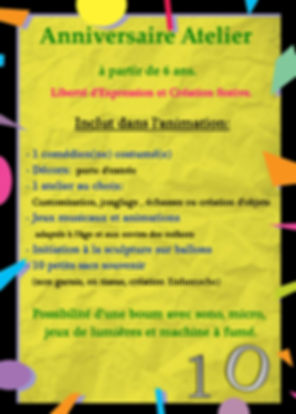 animation atelier creatif enfant