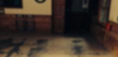 unfinished basement concrete floors