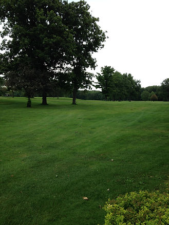 wide open fairway at curtis creek golf course