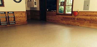 basement concrete floor finishing and coatings