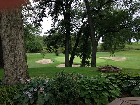 beautiful hole at curtis creek golf course northwestern indiana