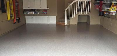 polyurea garage concrete floor coating