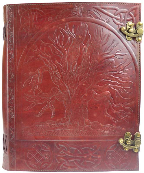"Tree of Life blank book 10""x13"""
