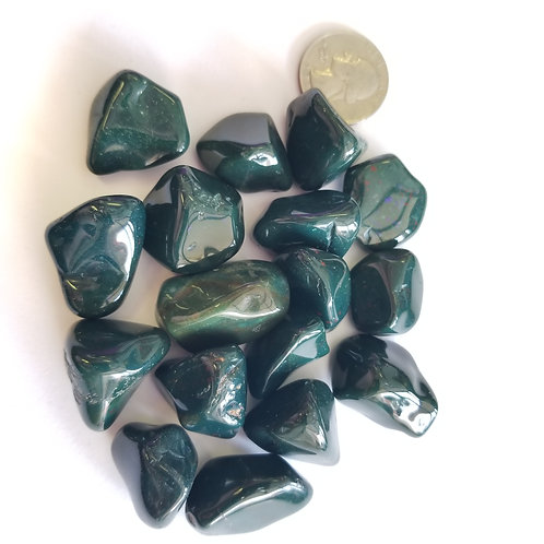 Bloodstone Tumbled Stones