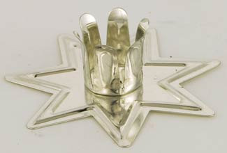 Fairy Star Ritual Candle Holder