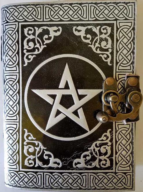 "Pentacle blank book 5""x7"""