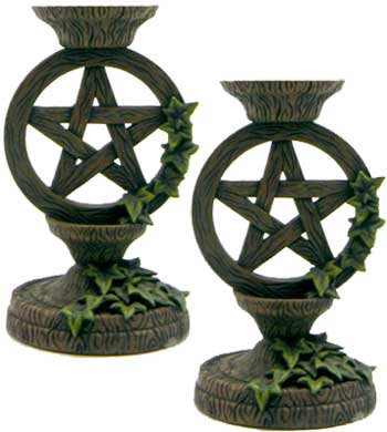 Pentacle Taper Holder Pair
