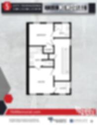 764 MEMORIAL -townhome floorplans (exter