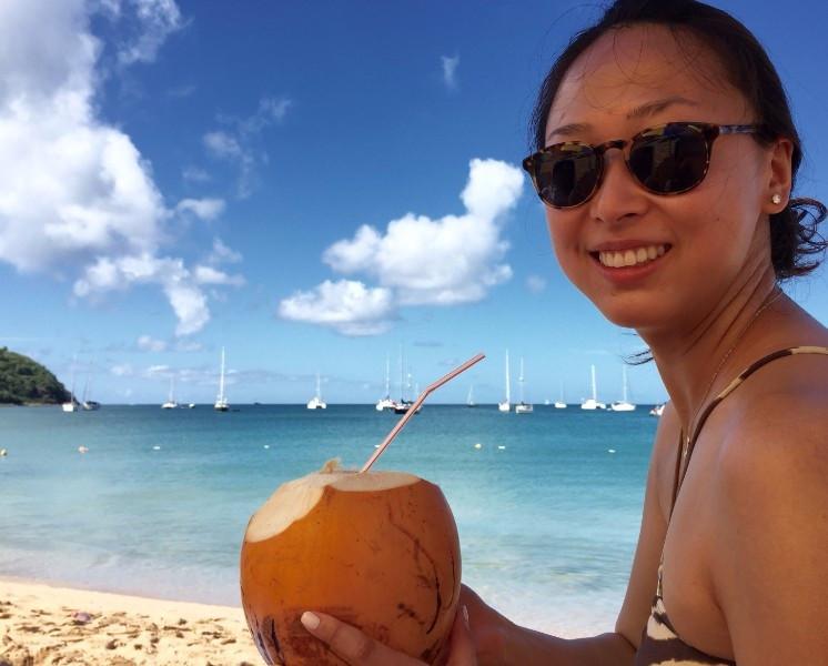 My Wife's Birthday in Saint Lucia