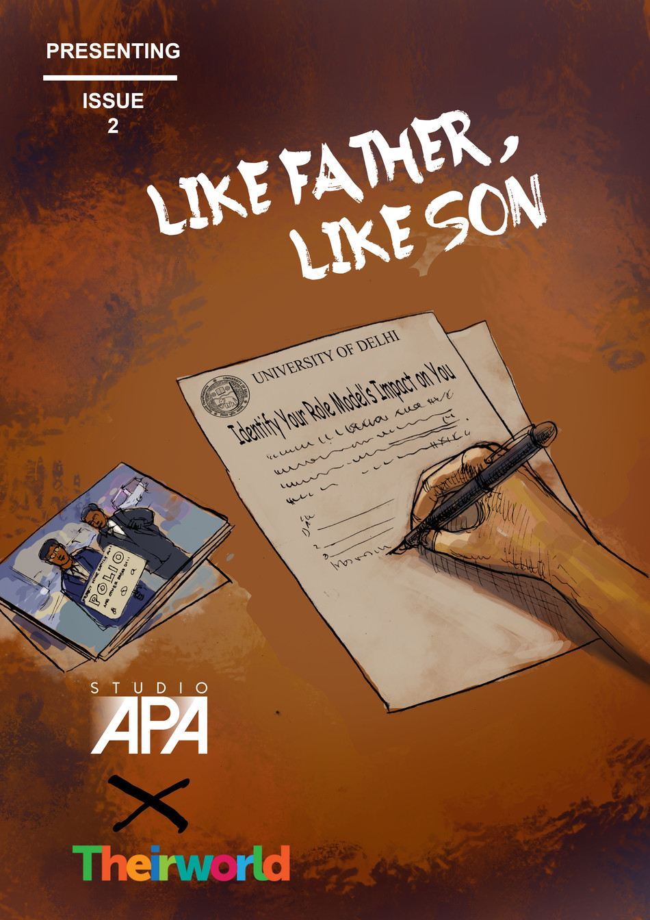 Presenting Issue 2: Like Father, Like Son