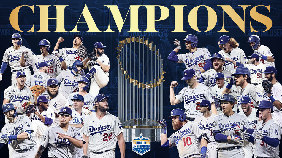 DODGERS 2020 WORLD SERIES CHAMPIONS