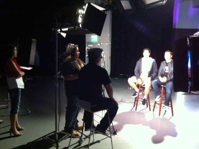 MYX TV Studio Visit and Filming