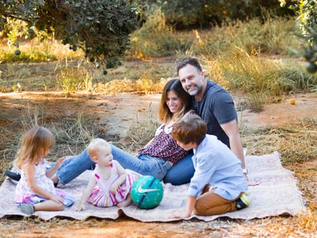 זוגיות בשנים של ילודה וגידול ילדים קטנים